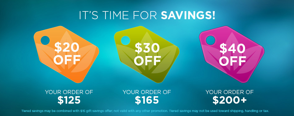 Tiered Savings Special