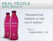 Nopalea Real People - Real Results