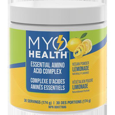 MyoHealth® Essential Amino Acid Complex Lemonade Powder
