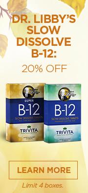 October Special: 20% Off B-12