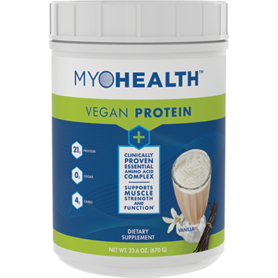 MyoHealth™ Vegan Vanilla Protein Powder