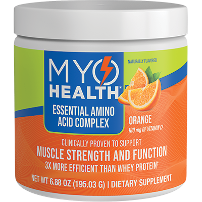 MyoHealth Essential Amino Acid Complex Orange with Vitamin C | Amino Acid Supplement